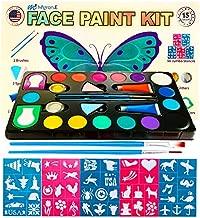 Face Painting Kit for Kids :Face Paint kit, Face Painting Kits Professional,Halloween face Paint,face Painting Kits,face Painting,face Paint kit for Kids.