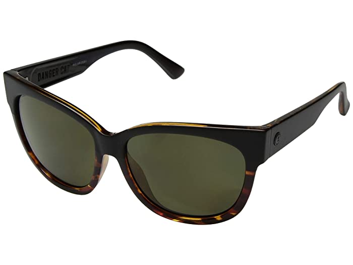 Danger Cat Polarized (Darkside Tortoise/OHM Polarized Grey) Fashion Sunglasses