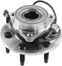 4WD Only DRIVESTAR 515036 Front Wheel Hubs & Bearings Assembly for Chevy GMC Truck 4x4 AWD w/ABS