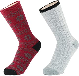 Best red winter socks Reviews