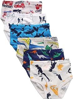 benetia Boys' Soft Cotton Underwear 6 -Pack