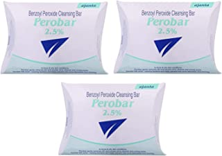 Perobar 2.5% Soap For Acne & Oily Skin (pack Of 3 * 75g)
