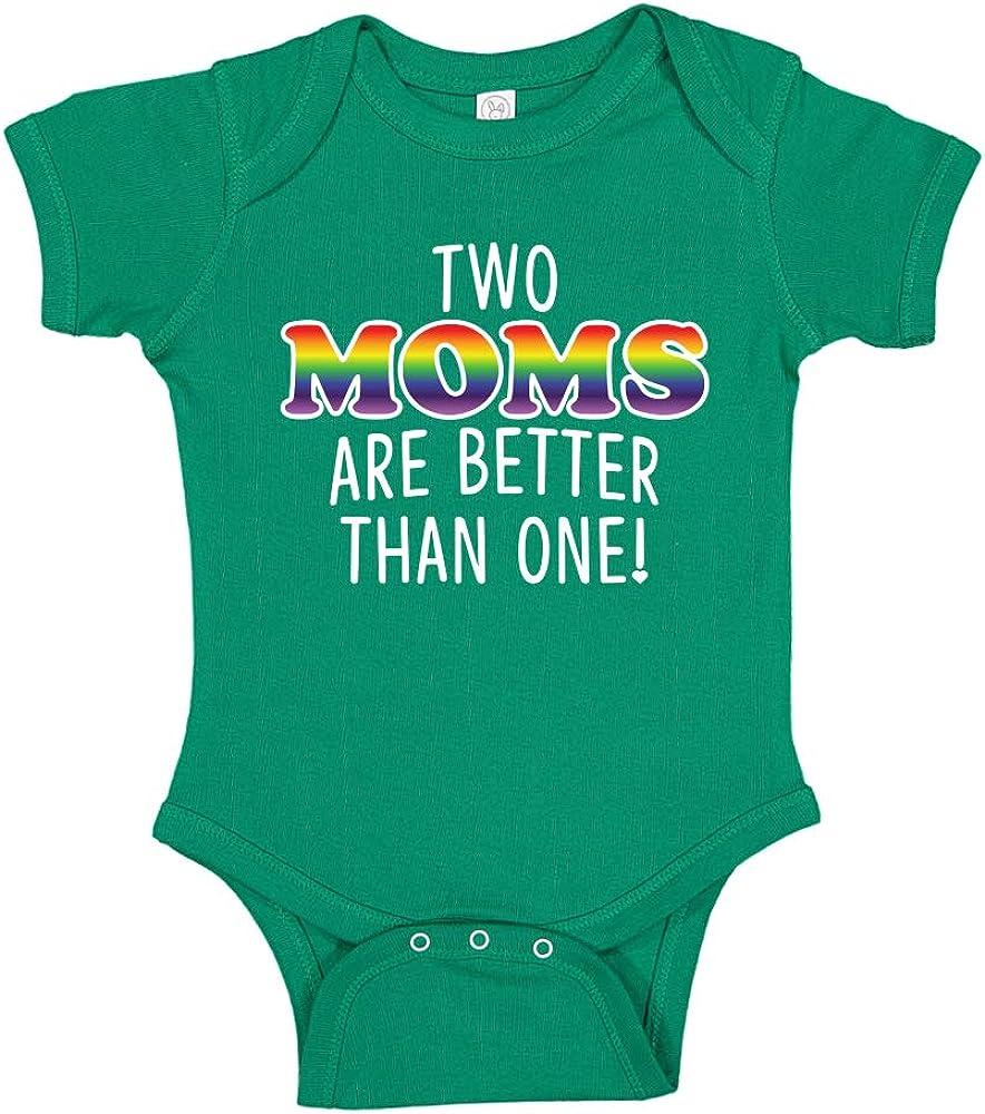 Baby LGBT Unisex Embroidered Vest New Baby Bodysuit Gift I love my Daddies