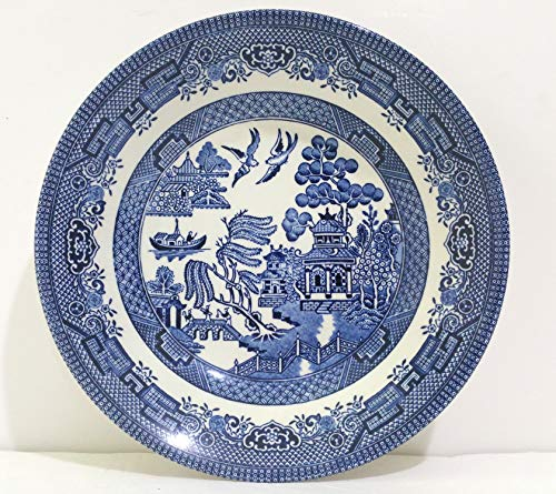 Churchill Blue Willow Coupe Soup Bowl 8' (Set of 6)