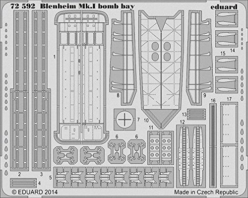 Eduard Photoetch 1:72 - Blenheim Mk.I Bomb Bay (AIR08016)