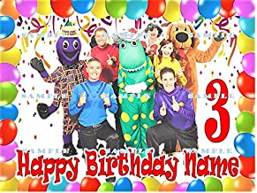 THE WIGGLES : Personalized edible Birthday Cake topper premium frosting sheets