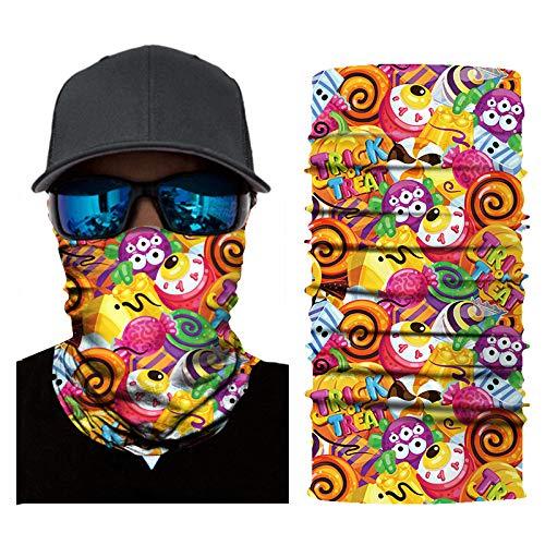 chenxu Halloween Kürbis Party Requisiten Outdoor Turban Maske Kinder Männer Und Frauen Multifunktionsschal