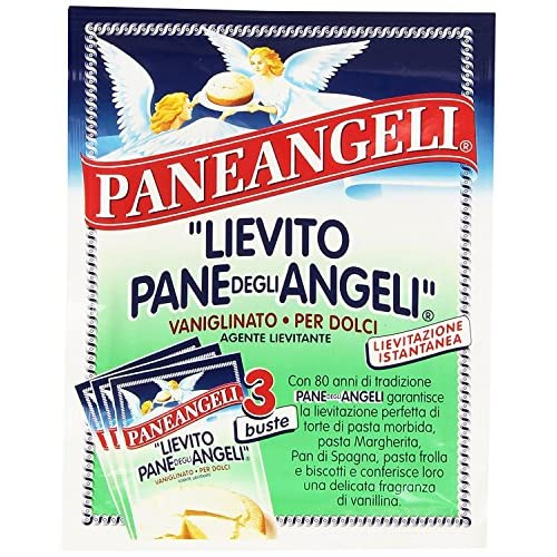 Paneangeli Lievito Pane degli Angeli, Vaniglinato per Dolci, Lievitazione Istantanea, 48g
