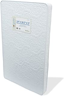 "Colgate Portable Mini Crib Mattress | 24"" W x 38.5"" L and 3"" 