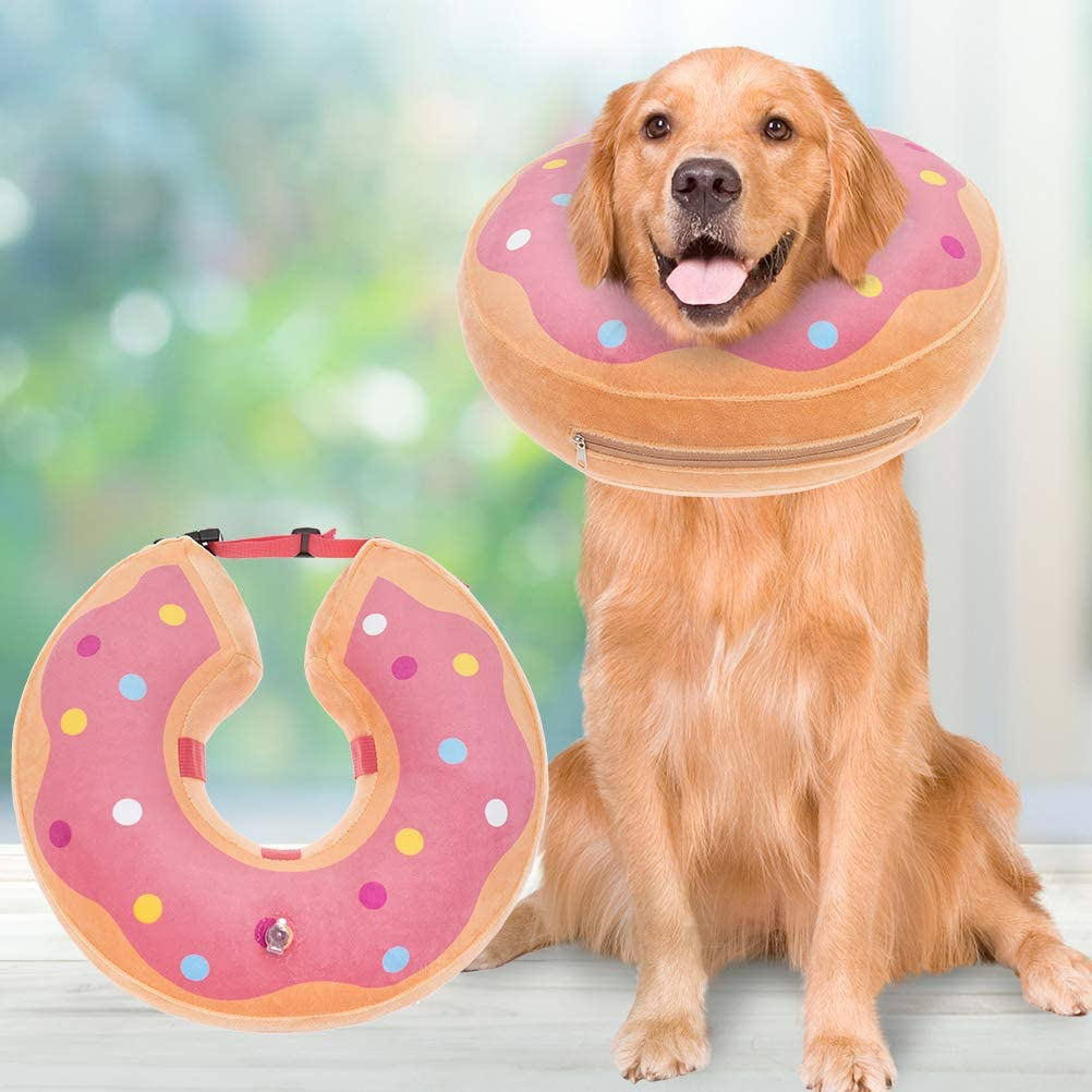 BINGPET Albuquerque Mall Dog Inflatable Recovery Phoenix Mall Collar Soft Surgery - Pet