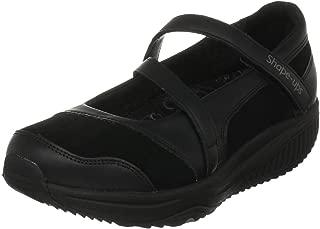 skechers shape ups boots black
