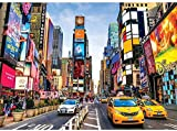 Times Square Adult Jigsaw Puzzles - 1000 Piece Puzzle for Adults 1000 Piece New York Times Square Street View