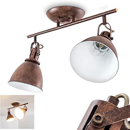Amazon.it: Lampadario Rustico - Faretti / Illuminazione per ...