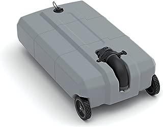 Thetford SmartTote2 Portable RV Waste Tote Tank 40501, 2 Wheels - 18 Gallon Capacity