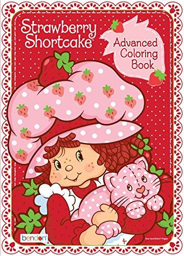 Strawberry Shortcake Retro 80-Page Advanced Coloring Book