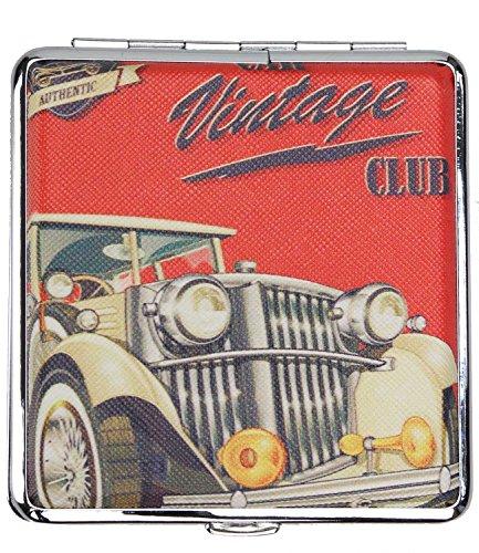 Caripe Zigarettenetui Damen Herren 20 Zigaretten Zigarettenbox Retro Vintage - art (aw7 - vintageclub)