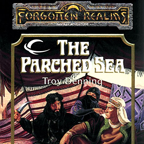 The Parched Sea audiobook cover art