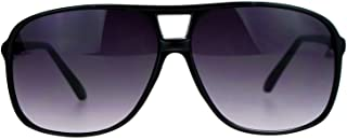 SA106 Oversize Large Thin Plastic Racer Mens Sport Sunglasses