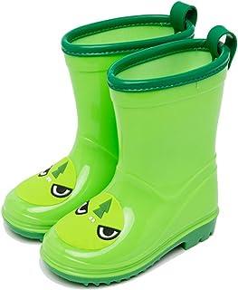 Frelo Dinosaur Rain Boots Cute Rubber Anti-Slip Kids Rain Boots