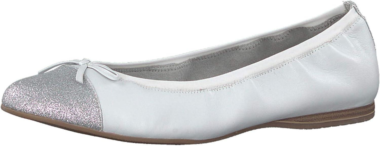 best service c0da2 2600e Tamaris Ballerinas 406494 wei 1-1-22129-20-191 Da.-Ballerina ...