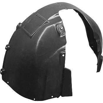 2016-2017 Rio Driver Side Front Fender Liner; Vacuum Formed; Made Of Plastic Partslink KI1248149