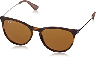 Kids' RJ9060S Erika Kids Round Sunglasses, Rubber Havana/Dark Brown, 50 mm