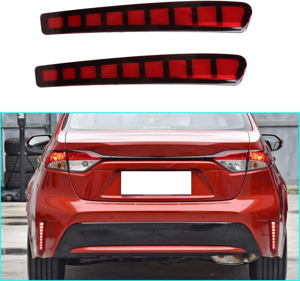 Muchkey Super Bright BrakeLights Selling rankings New arrival for 2P Toyota Corolla 2020-2021