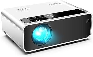 Mini Proyector, ELEPHAS Proyector Portatil 5500 Lumen Proyector de Cine en Casa LED de 50,000 Horas Vida 1080P Compatible