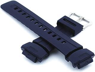 Genuine Replacement Strap for G Shock Watch Model G-100-2B, G-2310-2V, G-2400-2V, G-100-2BV