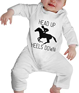 inktastic Future Equestrian Horse Rider Long Sleeve Creeper