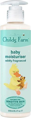 Childs Farm Baby moisturiser, Mildly fragranced 250ml