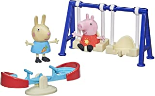 Hasbro Peppa Pig Peppa's Adventures Peppa's Outside Fun Preschool Toy, with 2 Figures and 3 Accessories, Ages 3 and Up