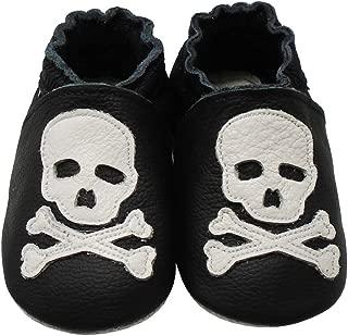 skull and crossbone slippers