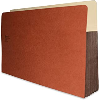 """Redweld File Pocket, Top Tab, Legal Size with 5 1/4"""" Fully Reinforced Tyvek Gusset, 50 per Carton"""
