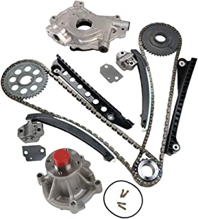 MOCA Timing Chain Kit & Oil Water Pump Compatible with 2003-2011 Ford E-150 & Ford F-250 Super Duty & Ford Expedition F-150 5.4L V8 SOHC