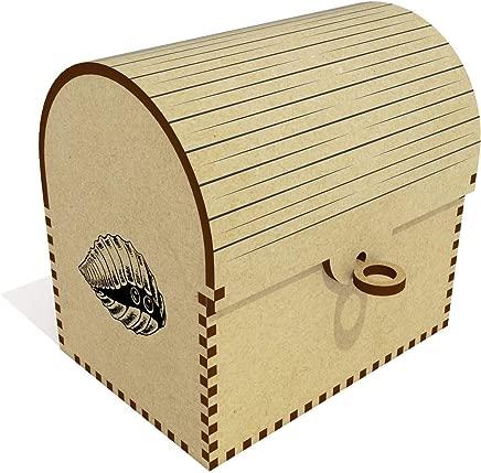 Azeeda  Shy Crab  Treasure Chest Jewellery Box  TC00041095