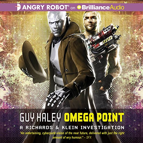 Omega Point audiobook cover art