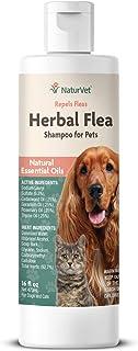 NaturVet Herbal Shampoo Essential Liquid