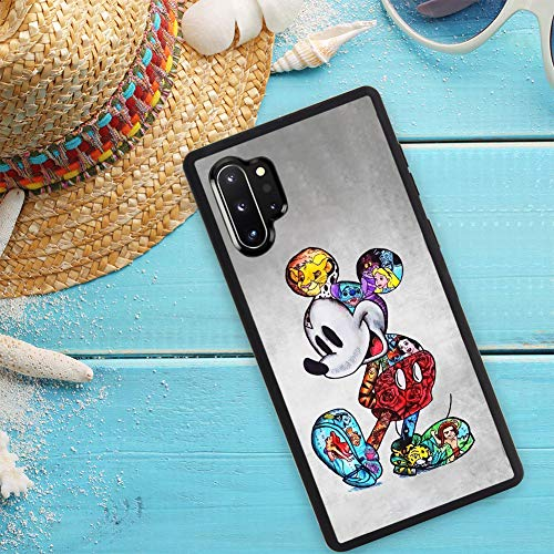DISNEY COLLECTION Case for Samsung Galaxy Note 10 Plus, Samsung Galaxy Note 10+ 5G [6.8 Inch] TPU+PC Mickey Mouse…