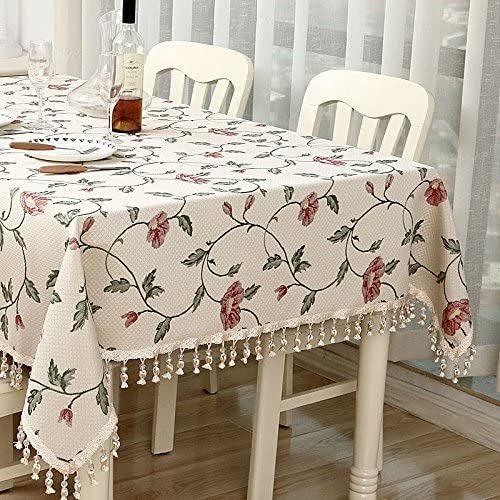 punto de venta en línea DONG Mantel de estilo europeo europeo europeo mantel multiusos de algodón jacquard familia mesa de comedor TV mostrador mantel de té paño (Color   B, Tamaño   140200cm 55.178.7in)  ¡no ser extrañado!