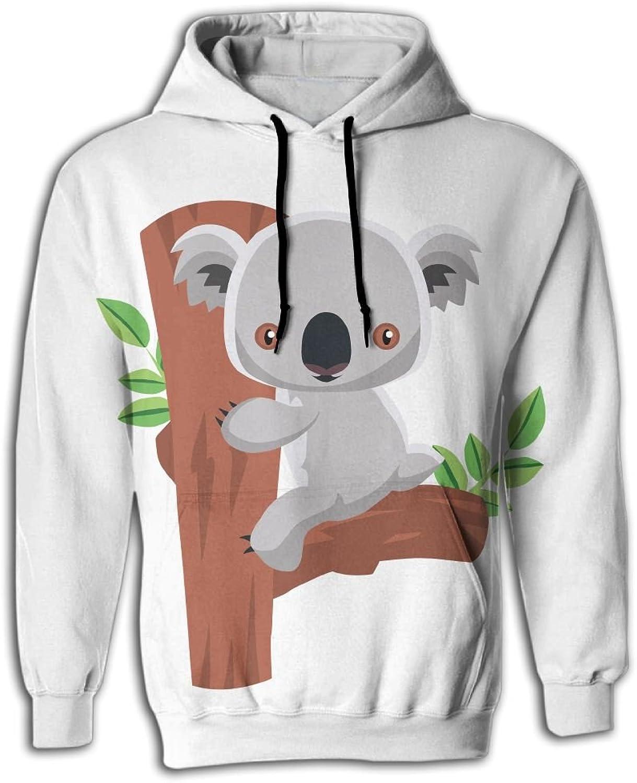 7a2a966e8 Koala Man Fashion Fashion Fashion Hoodie Sweatshirts Hooded Sweater ...