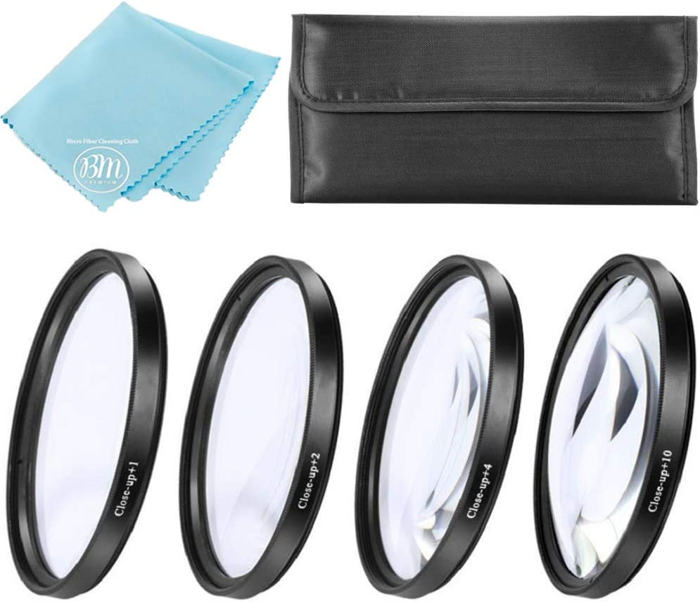 77mm Close-Up Filter Set +1 2 4 Nikon Diopters C New Choice color and +10 for