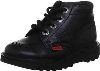 Kickers Kick Hi Toddlers I Core Black Leather Boots