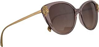 Versace VE4351B Sunglasses Transparent Violet w/Brown Gradient Lens 55mm 527313 VE4351-B VE 4351B VE 4351-B
