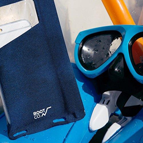 【ROOTCO.】H2O防水スマートフォンポーチ/防水ケース/WaterProofShell.IPX8(ブラック)