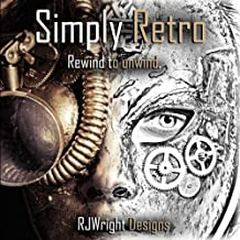 Simply Retro: Adult steampunk coloring book