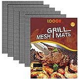 Best Grill Mats - LOOCH BBQ Mesh Grill Mat Set of 5 Review
