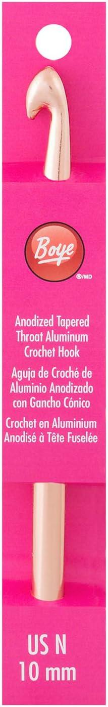 Boye Under blast sales 332621800NM Aluminum Crochet overseas Hook 6'' 10 N mm Size