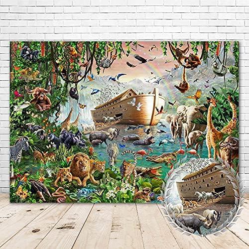 Noahs ark backdrop