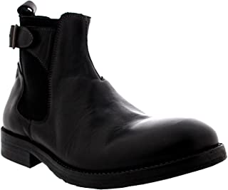 Mens H by Hudson Parson Work Leather Office Smart Shoes Chelsea Boots